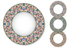 Комплект плит мозаики Стоковые Фото