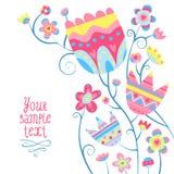 Комплект плоских значков стиля Доктор, термометр, стетоскоп Стоковая Фотография