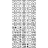 Комплект плоских значков иллюстрация штока