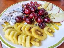 Комплект плодоовощ свежий Стоковая Фотография