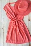 Комплект различных одежд и аксессуаров для женщин Стоковые Фотографии RF