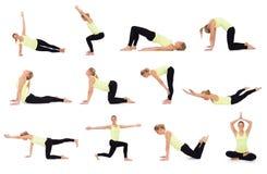 Комплект различных учебных упражнени Стоковое фото RF