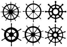 Комплект различных штурвалов Стоковые Изображения RF