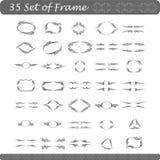 комплект рамки Стоковые Изображения RF