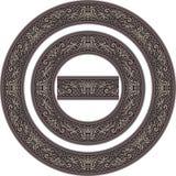 Комплект рамок круга Стоковое Фото