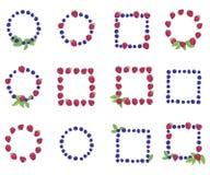 Комплект рамок от ягод Стоковая Фотография