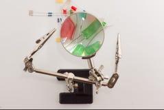 Комплект радио-электронных деталей Стоковые Изображения RF