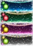 комплект рождества предпосылок Стоковая Фотография RF
