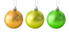 комплект рождества шариков Стоковые Фотографии RF