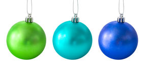 комплект рождества шариков Стоковое Изображение RF