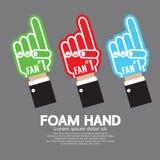 Комплект руки пены Стоковые Изображения RF