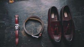 Комплект свадьбы вахт ботинок русский сток-видео