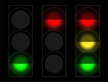 Комплект светофоров Стоковое фото RF