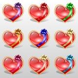 Комплект сердец Стоковое Фото