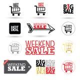 Комплект символов продажи бесплатная иллюстрация