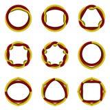 Комплект символов Стоковое Фото