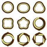 Комплект символов Стоковое Изображение RF