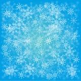 Комплект снежинок Стоковое Изображение