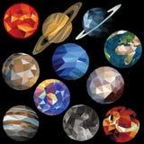 Комплект солнечной системы Стоковое Изображение RF