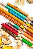Комплект старого карандаша Стоковое Изображение