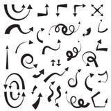 Комплект стрелки значка Бесплатная Иллюстрация