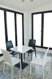 Комплект стула с таблицей Стоковое Изображение