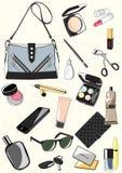 Комплект сумок дам Стоковое Изображение