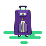 Комплект сумок с колесами Стоковые Фото