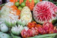 Комплект тайского овоща Стоковая Фотография RF