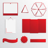 Комплект текстового поля для дизайна вебсайта Стоковое фото RF