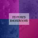 Комплект 4 текстурированных предпосылок Стоковые Изображения