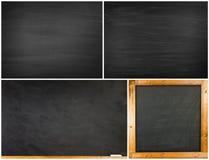 Комплект текстуры классн классного/доски Стоковое Изображение RF