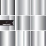 Комплект текстуры серебряной фольги