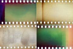 Комплект текстур фильма Стоковая Фотография RF
