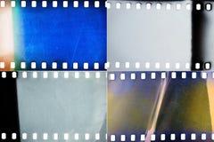 Комплект текстур фильма Стоковые Изображения
