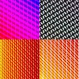Комплект темных абстрактных линий предпосылки спектра иллюстрация штока