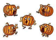 Комплект тыквы беглеца хеллоуина Стоковая Фотография RF