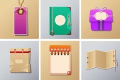 Комплект упаковки и бирки иллюстрация штока
