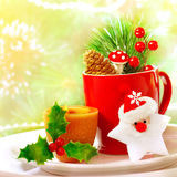 Комплект утвари рождества Стоковые Фото