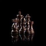 комплект ферзя короля шахмат Стоковые Изображения