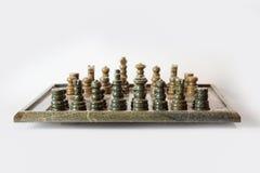 комплект ферзя короля шахмат Стоковое Изображение