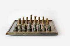 комплект ферзя короля шахмат Стоковые Фото