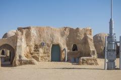 Комплект фильма звездных войн, Тунис стоковое изображение rf