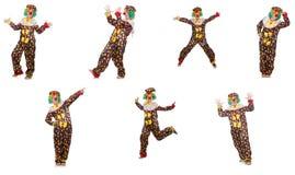 Комплект фото клоуна Стоковое фото RF