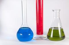 Комплект химической лаборатории Стоковые Фотографии RF