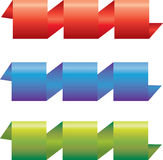 комплект цветастой ленты Стоковые Фотографии RF