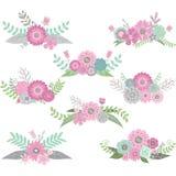 Комплект цветка свадьбы Стоковое Изображение