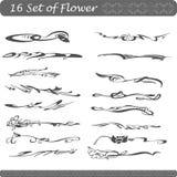 Комплект цветка для графиков корабля Стоковые Изображения