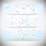 Комплект цифровых предпосылок для сообщения, иллюстрация штока