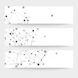 Комплект цифровых предпосылок для сообщения, иллюстрация вектора